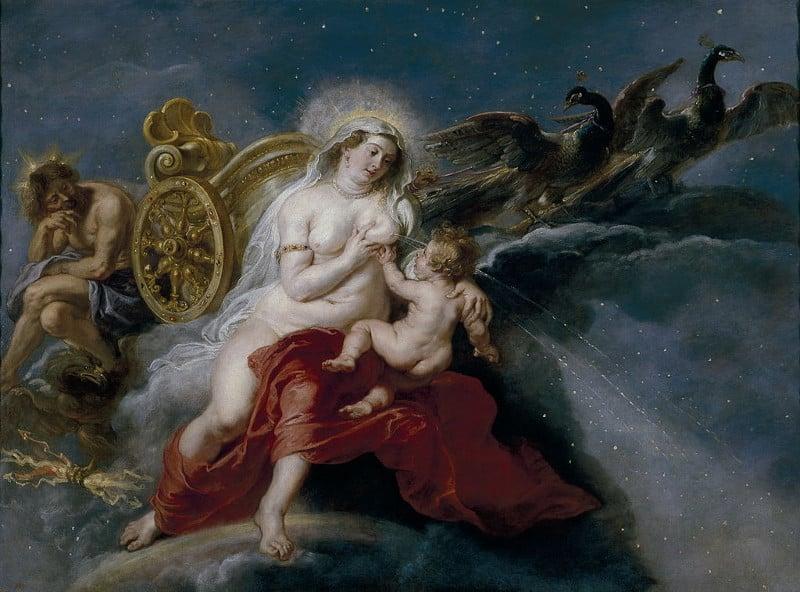 L'origine de la Voie Lactée, par Rubens