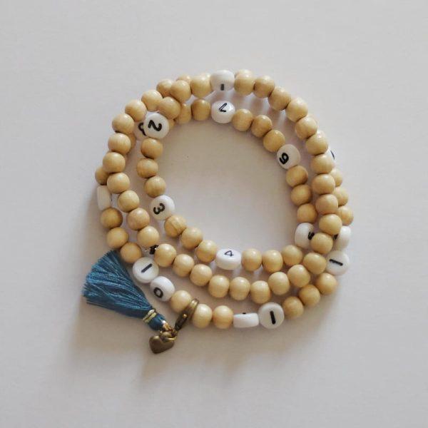 Bracelet d'allaitement Céliafluo coloris bleu canard