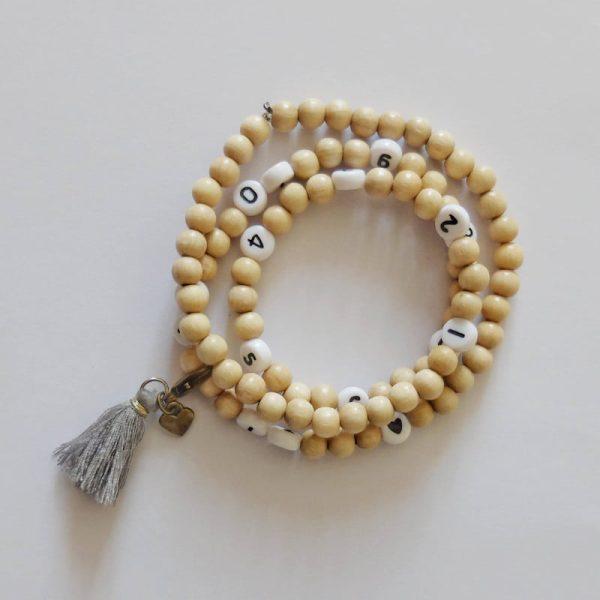Bracelet d'allaitement Céliafluo coloris gris