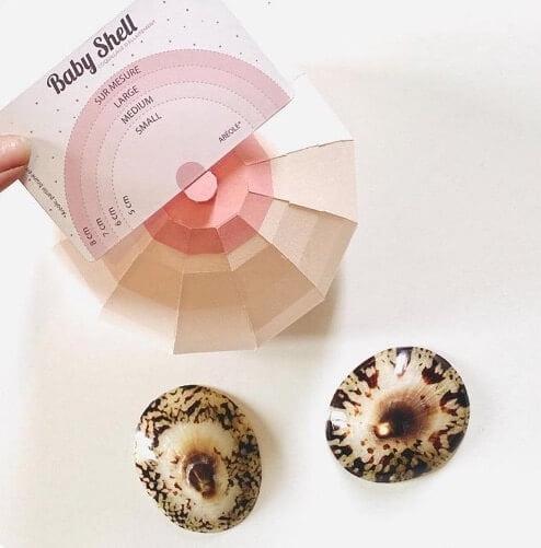 comment trouver la bonne taille pour choisir vos coquillages d'allaitement