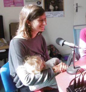 Jeanne Sélène, travail et allaitement