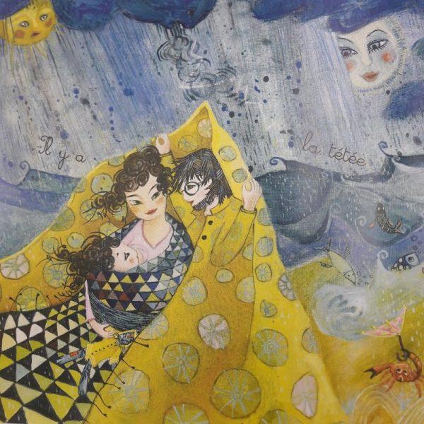Les Tétées de Maïté, illustration