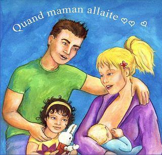 Couverture de l'album Quand maman allaite