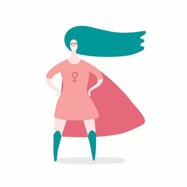 Fluides féminins et super pouvoirs