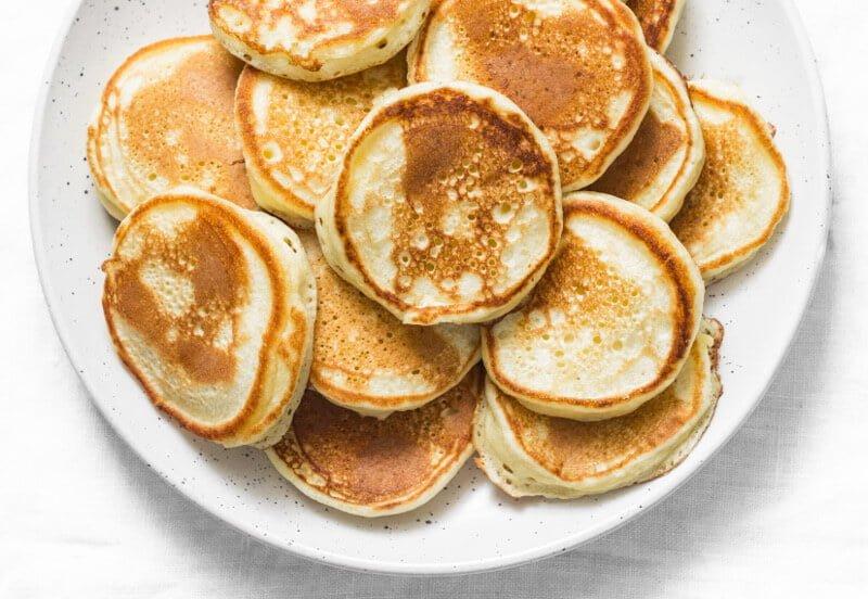 Recette des pancakes au lait maternel