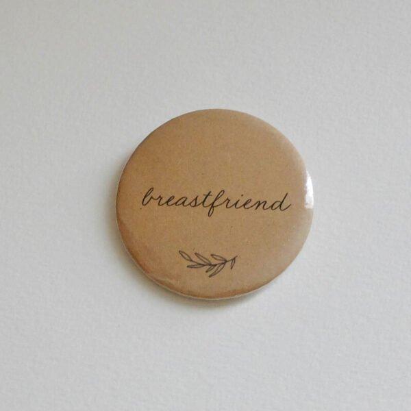 Badge allaitement Breastfriend