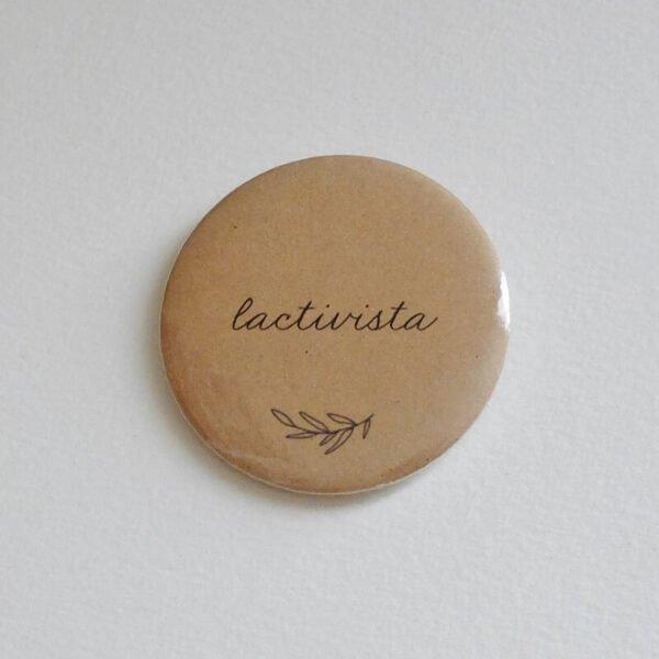 Badge allaitement Lactivista