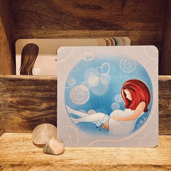 28 cartes pour préparer et accompagner les futures mamans