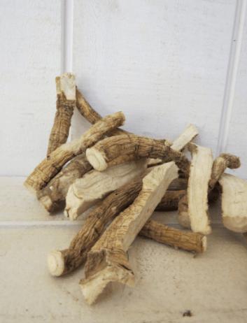 Racines de guimauve produites en France et issues de l'Agriculture Biologique
