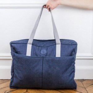 Le sac à langer Joey est idéal pour transporter les affaires de bébé ou comme sac de week end