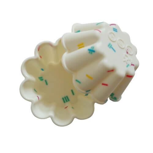 Les moules en forme de fleur de la box Diy Savon au lait maternel