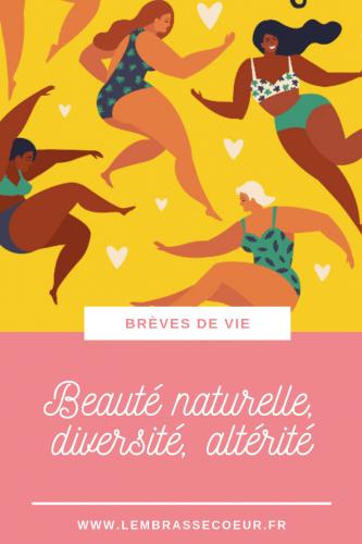La beauté est dans la diversité, pas dans la norme qu'on nous impose. Redéfinissons la norme et dénonçons les fausses croyances.