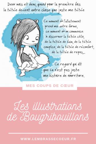 Des illustrations épurées, justes et bienveillantes sur l'allaitement, la Dme, et bien d'autres !