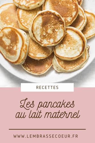 Epingle pinterest pour la recette ddes pancakes au lait maternel